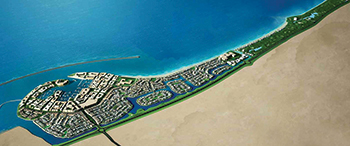 Masterplan of the  Al Mouj Muscat ...  Shaksy Engineering Services to build the community centre.