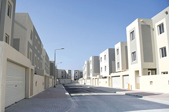 Some 3,000 homes are currently being delivered at Salman Town.