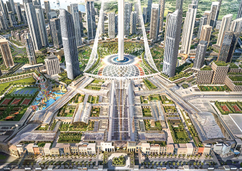 Dubai Square ... a 2.6-million-sq-m retail, hospitality and residential district.