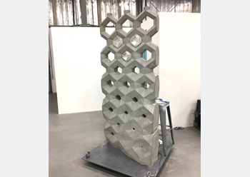 Concrete casting ...using 3D printed formwork.