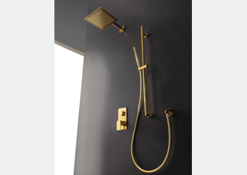 The RAN collection ... minimal look and made of brass.