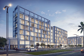 Areej Apartments by Arada ... construction contract awarded to Modern Building Contracting Company.