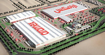 Aramex's Logistics Facility.