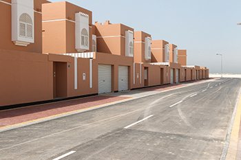 A social housing project in Bahrain ... 25,000 units are to be constructed under the Government Action Plan (GAP).