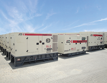 The new generators purchased by JTC ... set to meet the market demand.