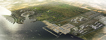 The Jazan Economic City ... Saudi Aramco, Air Products, and Acwa Power will form a gasification/power JV in the city.