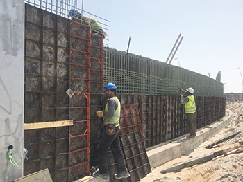 Malath Alamen General Maintenance using Paschal systems  at West Yas project.