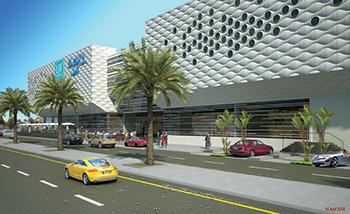 Al Muzn Mall ... to open in 2019.