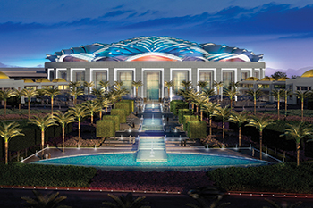 Oman Convention and Exhibition Centre ... aiming for Leed Gold.