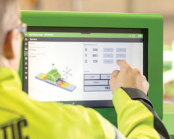 The new Plotter  E9  facilitates fast and accurate plotting of cuts and openings in the hollowcore slabs.