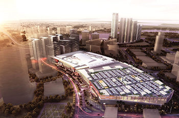 An artist's impression of Reem Mall ... over 20 consultancy firms took two years on its design.