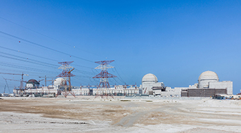 Barakah Nuclear Energy Plant ... work is 90 per cent complete.