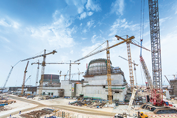 The Barakah Nuclear Energy Plant in Abu Dhabi ... work on the Arab world's first nuclear power plant is 90 per cent complete.