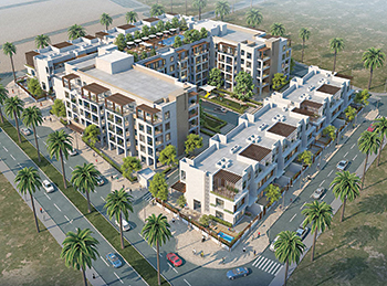Hyati Residence ...  122 apartments and 20 townhouses delivered in Phase One.