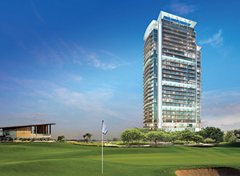 Under construction ... Radisson Hotel, Dubai Damac Hills will feature 481 rooms.