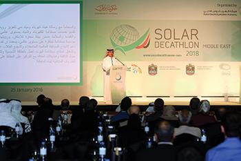 The Solar Decathlon Middle East Seminar ... focus on Net Zero Energy Buildings.