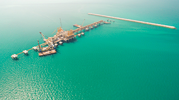 The Bahrain LNG project ... handed over last month.