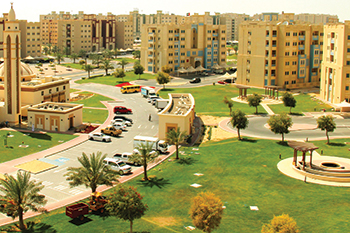 A housing complex in Ruwais City ... Adnoc to invest $45 billion in expansion.