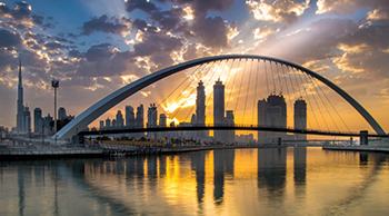 Dubai Water Canal ... a major success for Six Construct.