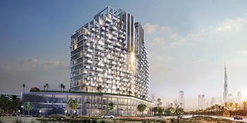 Fawad Azizi Residence by Azizi Developments at Dubai Healthcare City.