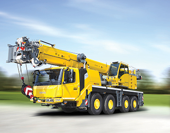 The Grove GMK4090 all-terrain crane ... best in class.