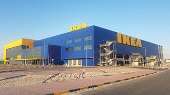 Ikea Bahrain ... the region's largest.