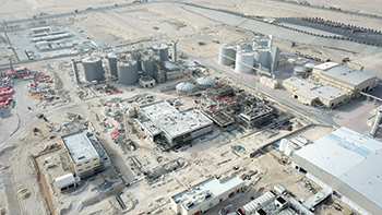Jebel Ali  water treatment plant in Dubai ... a project by Besix.