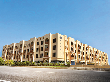 Mazaya Residence ... completed in record time.