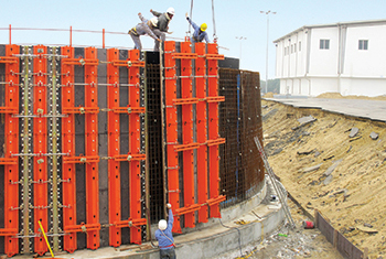 TTR ... one of the best and most reliable circular formwork construction on the market.
