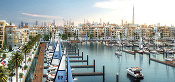 The community will offer a marina and waterfront lifestyle.
