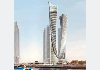 Aykon City by Damac ... CSCEC has secured the contract for Tower C.