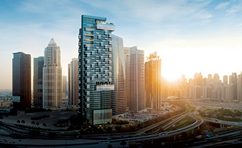 The Residences JLT in Dubai ...  unobstructed 270-degree views.