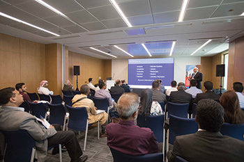 More than 200 people attended the two-day seminar series in March.
