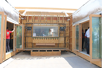 Baitykool prototype ... in the race fo the Solar Decathlon Middle East 2018 Awards.