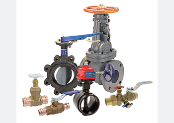 Nibco's line of valves ... supplied in Saudi Arabia by UBM.