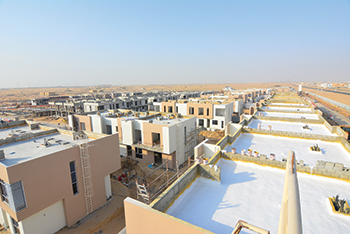 Nasma Residences ... self-sustained community with over 800 houses.
