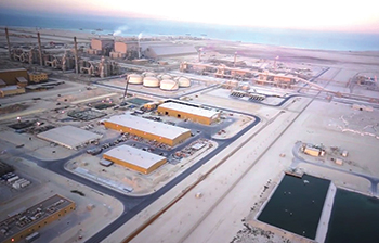 The phosphate complex in Ras Al Khair area ... contract awarded for ammonia plant.