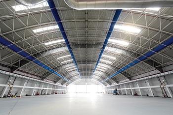 Brett Martin skylight systems ... UV- and abrasion-resistant.
