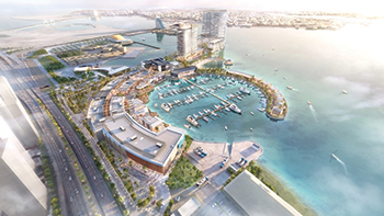 Bahrain Marina development ... a key project for Linesight.