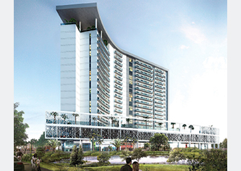 Bella Rose ... an 18-storey residential building to take shape in Dubai Science Park.