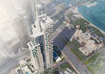 The first-of-many Aykon Hotels with interior design by Roberto Cavalli to be launched in Dubai.