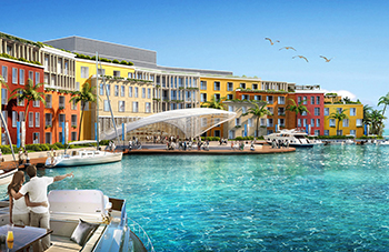 Portofino Hotel ... the first five-star family-only hotel in the region  set for a soft launch on The World project in Dubai.