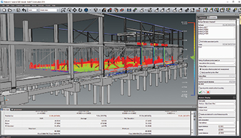 Users can check if work has been undertaken to the most accurate of tolerances at a micro level.