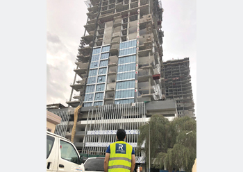 Al Fattan Towers ... Reynaers supplied a highly specialised bespoke solution.