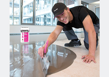Ceresit CN69 ... for smooth floor surfaces.