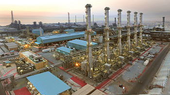 A KNPC facility ... the Clean Fuels Project aims to upgrade refineries.