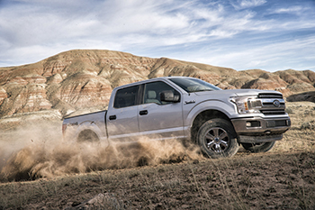 Ford's F-150 ... tough and smart.