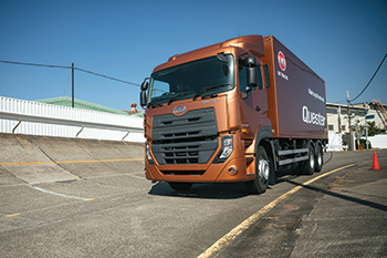 The Quester from UD Trucks.
