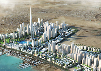 Jeddah Economic City ... expected to be the new anchor of North Jeddah.