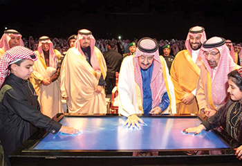King Salman inaugurated Phase One of Waad Al Shamaal city and laid the foundation stone for the second phase of the mega development.